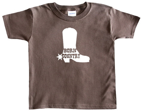 Born Country Cowboy Boot T-Shirt