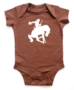 Bucking Cowboy Southwest Baby Bodysuit