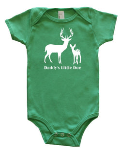 """Daddy's Little Doe"" Baby Bodysuit"