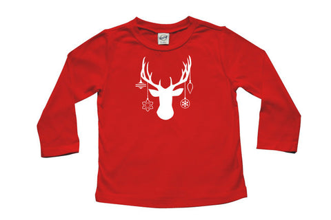 Decked Out Deer Baby and Toddler Shirt