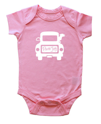 Dog Joy Ride Baby Bodysuit
