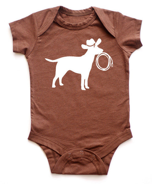 Get Along Doggy Southwest Baby Bodysuit