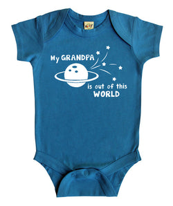 """My Grandpa is Out of this World"" Baby Bodysuit"