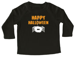 Happy Halloween Spider Long Sleeve T-shirt