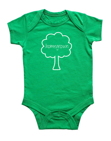 """Homegrown"" Baby Bodysuit"