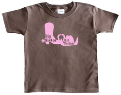 Country Girl Big Sister T-Shirt