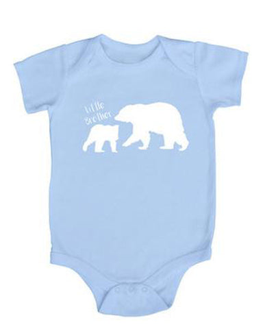 Little Brother Dog Baby Bodysuit