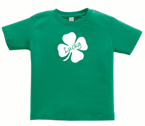 St. Patrick's Day 'Lucky' T-shirt for Toddlers & Kids