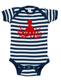 Octopus Silhouette Baby Bodysuit