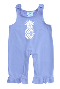 Pineapple Gender Neutral Baby and Toddler Overalls