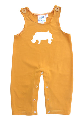 Rhino Gender Neutral Baby and Toddler Overalls