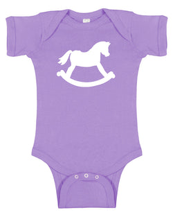 Rocking Horse Baby Bodysuit