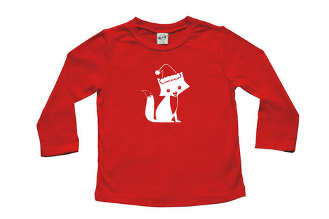 Festive Fox Baby and Toddler Shirt