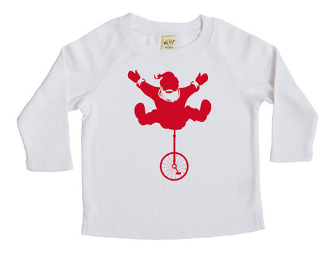 Santa's Joy Ride Long Sleeve T-shirt - Christmas