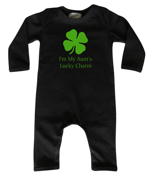 St. Patrick's Day Long Sleeve Baby Jumpsuit Romper