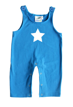 Star Gender Neutral Baby and Toddler Overalls