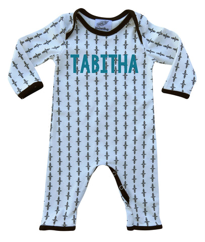 Personalized Aztec Baby Romper & Bodysuit for Boys and Girls