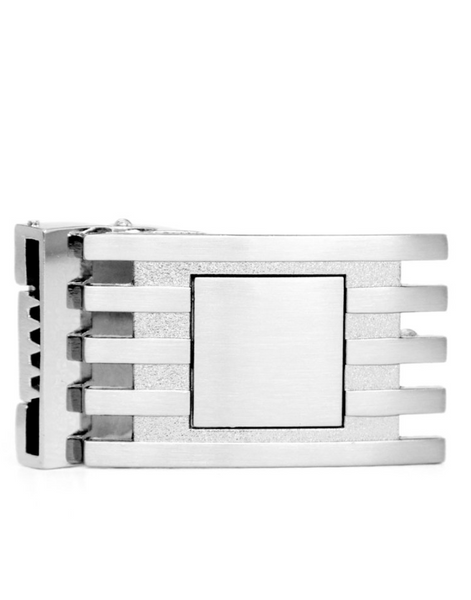 The Architect Stainless Steel Removable Belt Buckle