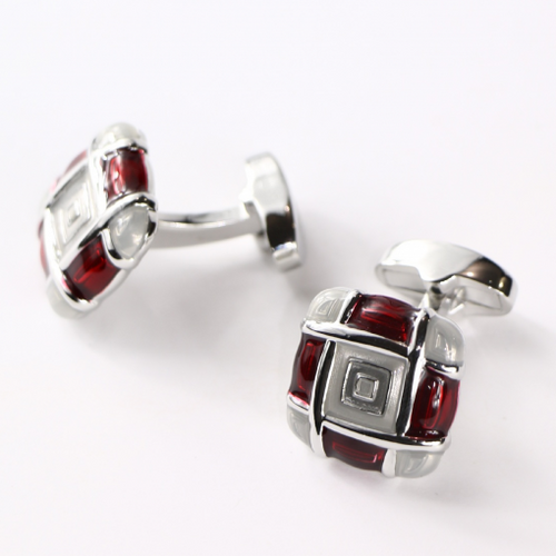Colorblock Cufflinks