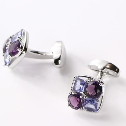 Jewel Cluster Cufflinks