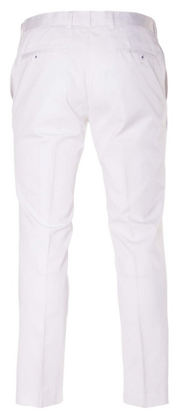 Downing Pants - White Twill