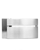Bauhaus Stainless Steel Removable Belt Buckle