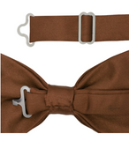 Gia Brown Satine Adjustable Bowtie