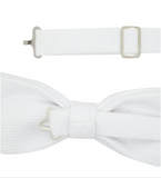Ken White Cotton Bowtie