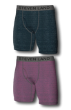 Steel + Pink Underwear | Pack of 2