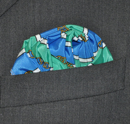 Harness Pocket Square