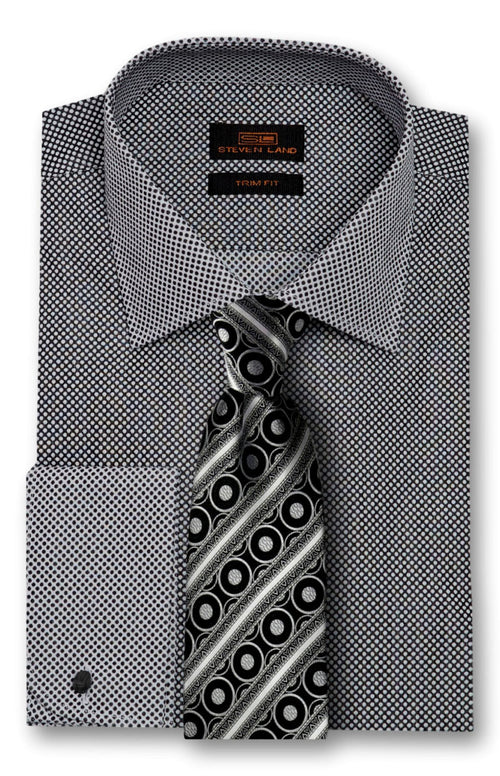 Dot Pattern Dress Shirt