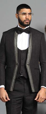 Refined Suit -Black