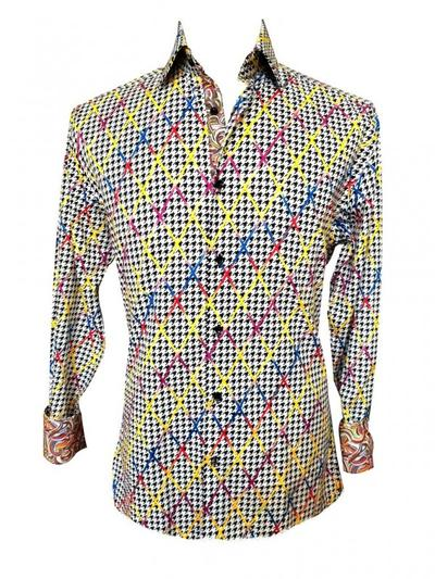 Crossed Out Mens  Dress Shirt