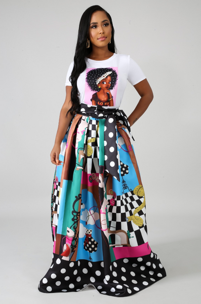 Work of Art Skirt