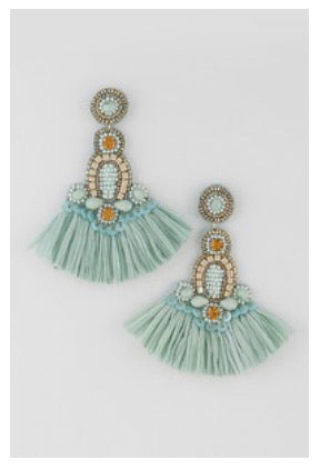 Jolly Mint Earrings