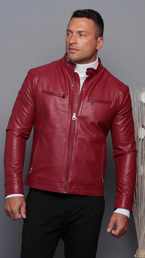 Serious Case Jacket- Red