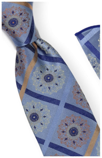 The Liam Tie + Pocket Square