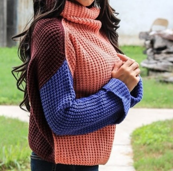 Crochet Turtleneck