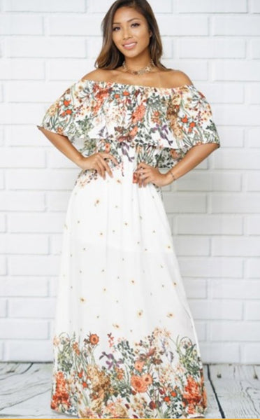 Off Shoulder Floral