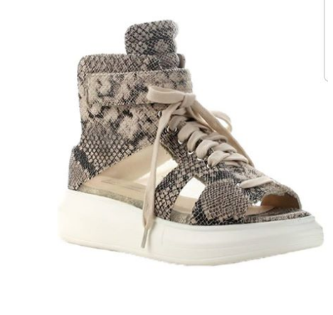 Snake Skin Casual Shoe