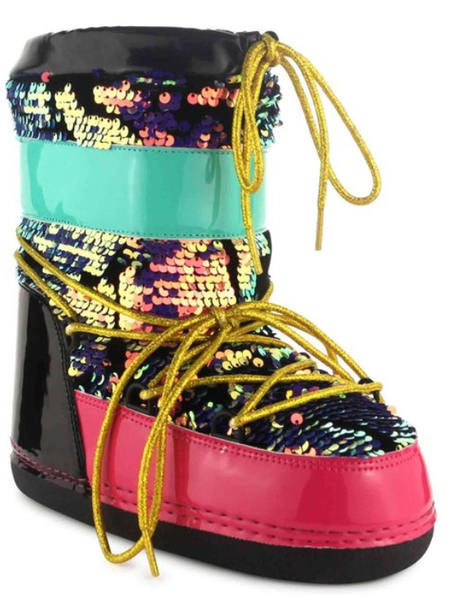 CAPE ROBBIN SEQUINS MOON BOOT'S