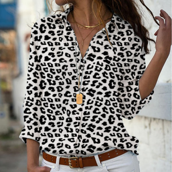 Elegant Long Sleeves Blouse