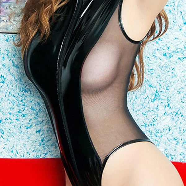Wetlookb Bodysuit