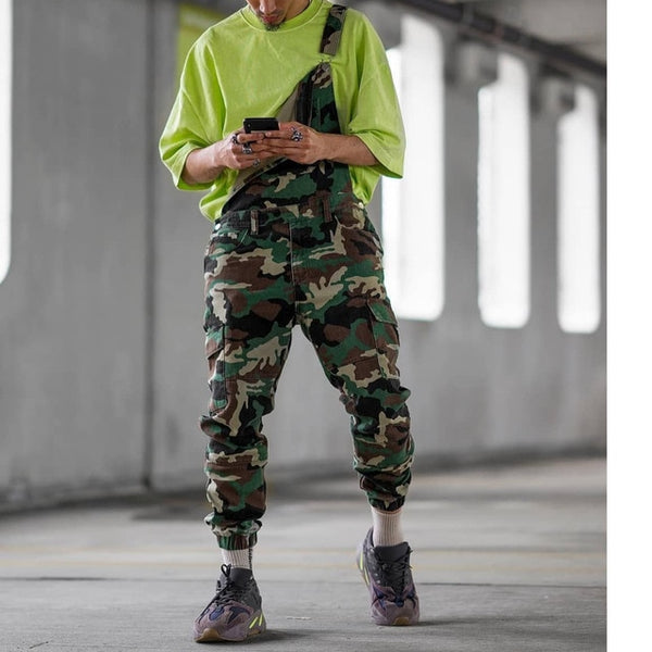 Camo / Rompers / Mens Jumpsuit / Military / Overalls
