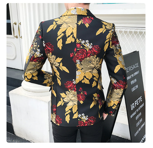 Golden Autumn Slim fit Blazer