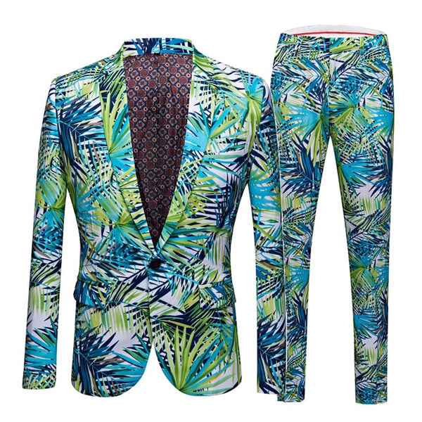 First Friday Slim Fit Design Suits | Men | Multi-color