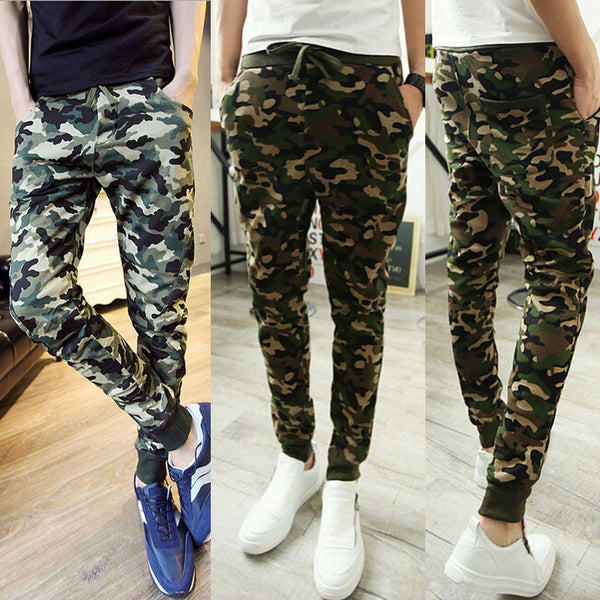 Slim Pencil Camo Pants