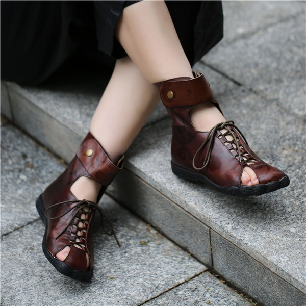 Gladiator Hollow Out Shoes
