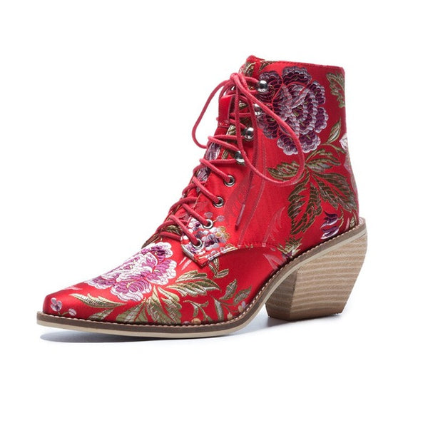 Luxury Silk Boot