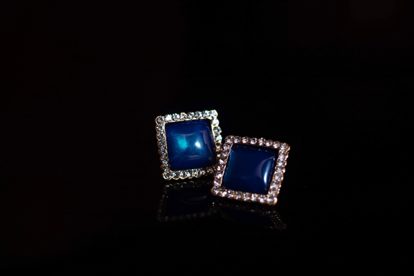 Blue Moon – Earrings